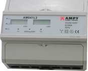 Třifázový statický elektroměr AM041L2 - NEOVĚŘENÝ
