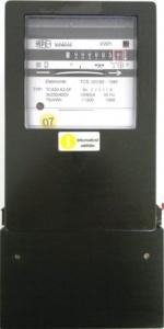 Třifázový indukční elektroměr - REPASOVANÝ, NEOVĚŘENÝ